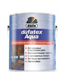 Dufatex Aqua lazura p/u lemn (Mahon)