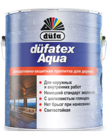 Dufatex Aqua lazura p/u lemn (Nuc)